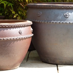 Rustic Apricot Pot Medium-119