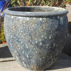 Atlantis Tall Rimmed Egg Pot Blue-0