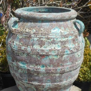 Atlantis Smokey Green Greek Urn-0