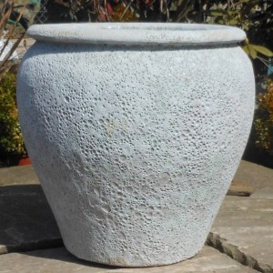 Atlantis White Saigon Pot Medium-0