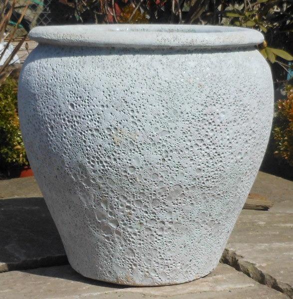Atlantis White Saigon Pot Medium-0
