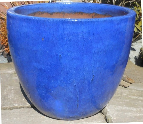 Giant Egg Pot Blue-0