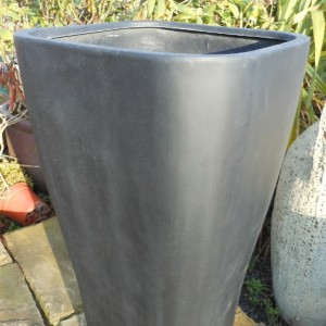 Fibre Glass Tall Flared Cube Medium-0