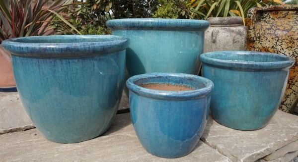 Green Glazed 352 Pot Medium-469