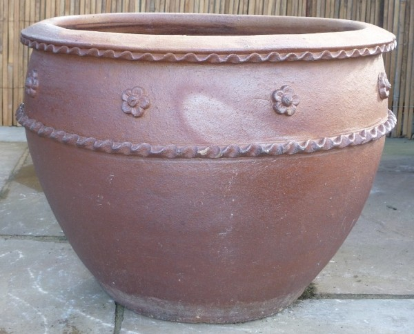 Rustic Apricot Pot Medium-0