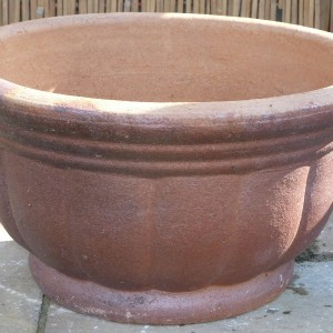 Rustic Giant Pumkin Bowl Medium-0