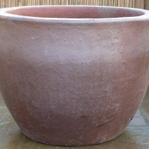 Rustic Tall Hanoi Egg Pot Medium-0
