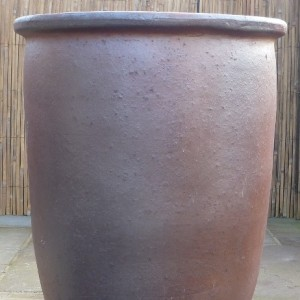 Rustic Big Plain Vase Medium-0