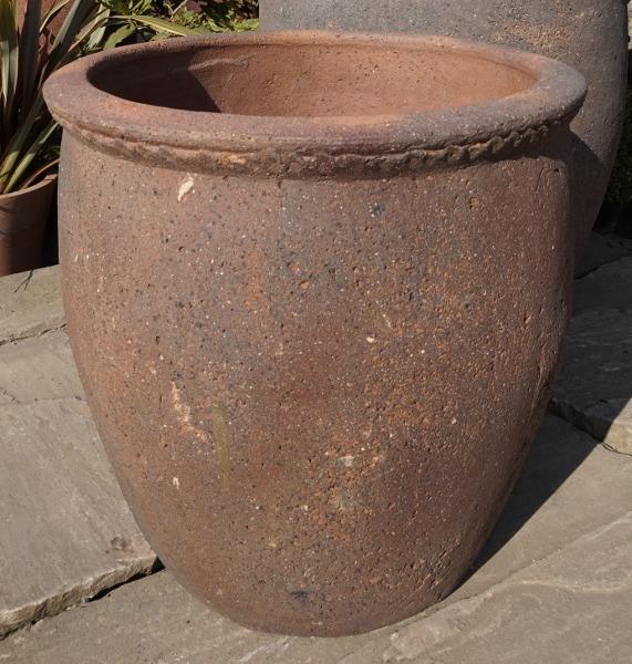 Old Stone Tall Scallop Rim Medium-0
