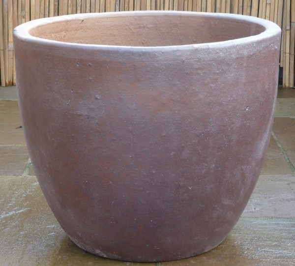 Rustic Tall Hanoi Egg Pot Small-0