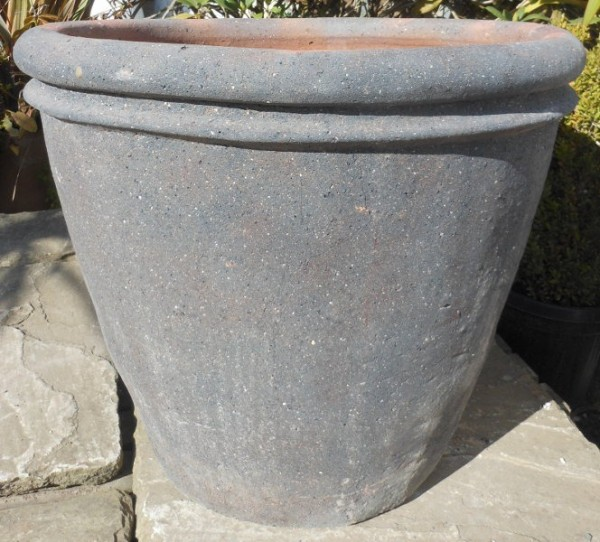 Old Stone Double Rim Pot Medium-0
