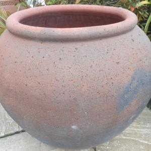 Old Stone Fat Belly Jar-0