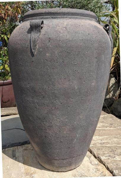 Old Stone Giant Monkey Jar-0