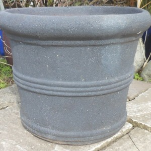 Old Stone Straight Sided 3 Ring Pot-0