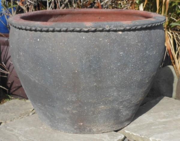 Old Stone Plain Round Wavy Rim-0