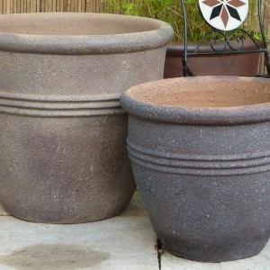 Old Stone Giant 3 Ring Pot -9
