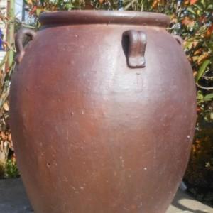 Rustic 4 Handle Belly Jar-480