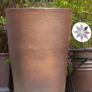 Rustic Jumbo Tall Round Pot-0
