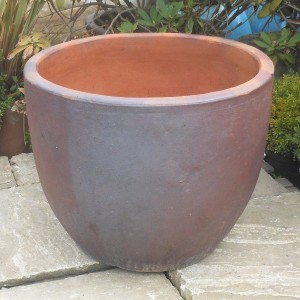 Rustic Tall Egg Pot-0