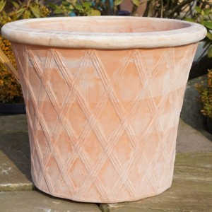 Tuscan Lattice Pot -0