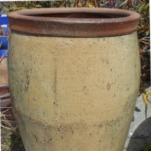 Glazed Nanking Jar Cream-0