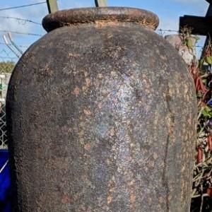 Atlantis Tall Rust Jar-0