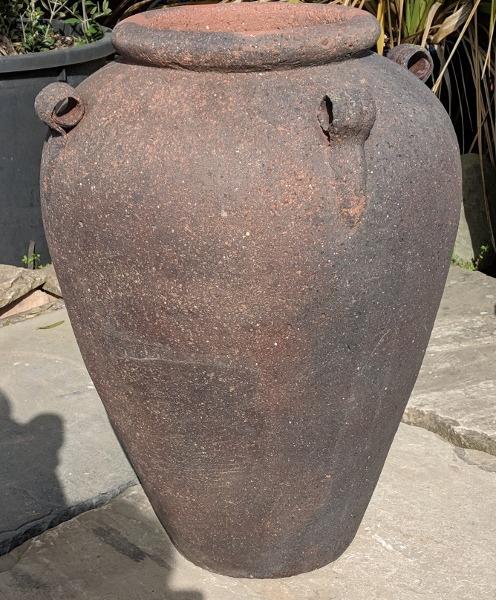 Old Stone Monkey Jar-0