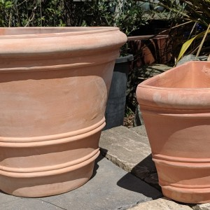 Tuscan Half Pot Small-755
