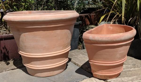 Tuscan Half Pot Small-755