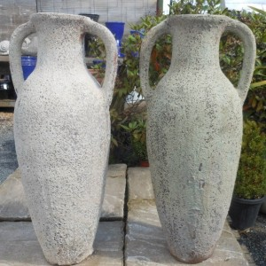 Atlantis Tall Amphora White-766