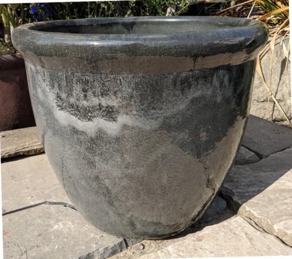 Glazed 352 Pot Grey-0