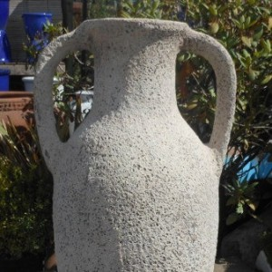 Atlantis Tall Amphora White-0